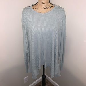 Gently Used Maurices Waffle Knit Top